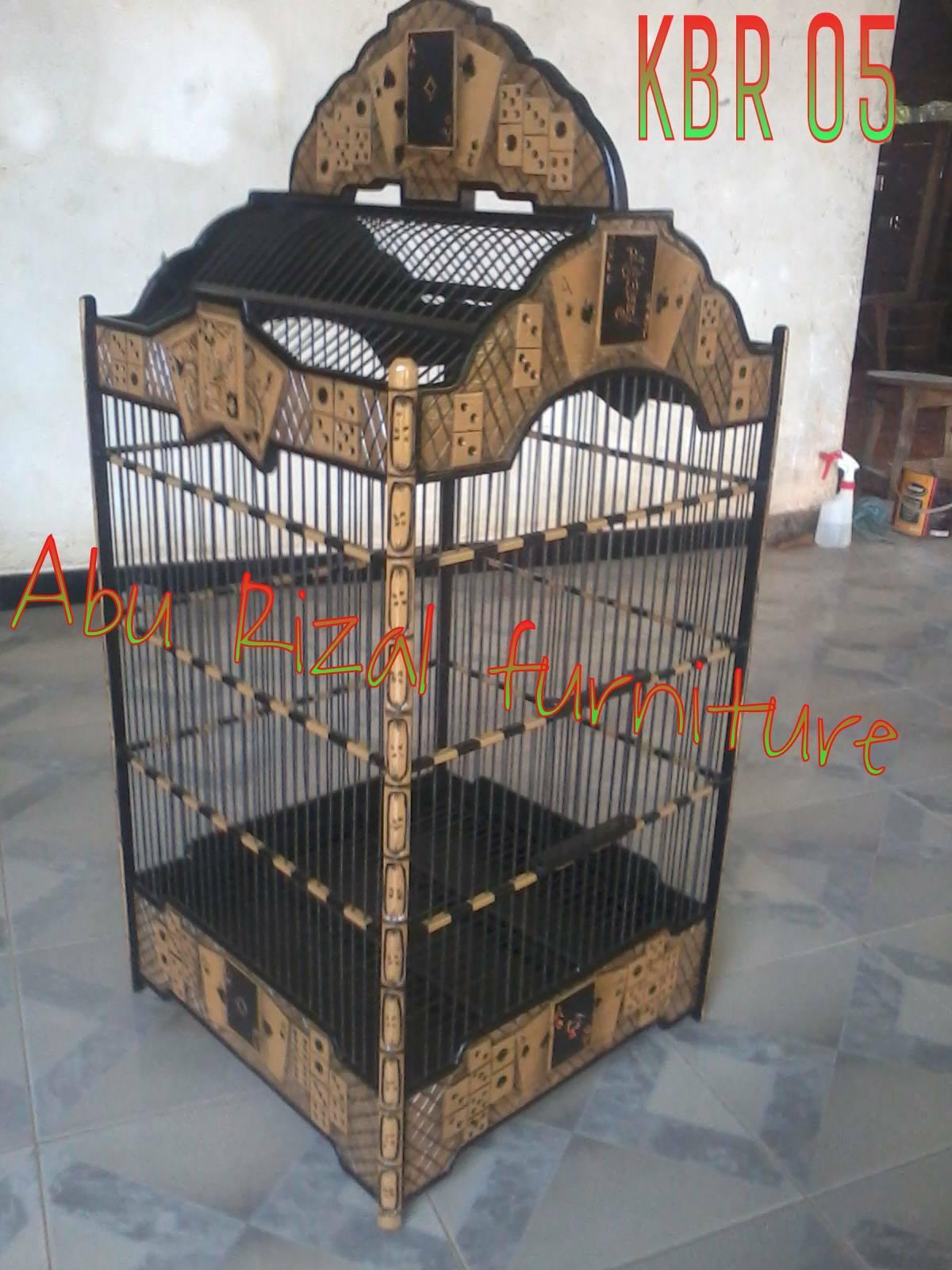 Sangkar Burung Kartu Remi Aburizal Furnitur Image